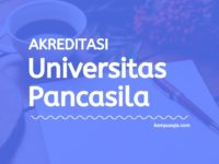 Akreditasi Program Studi Universitas Pancasila Jakarta