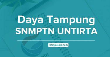 Daya Tampung SNMPTN UNTIRTA Universitas Sultan Ageng Tirtayasa Banten