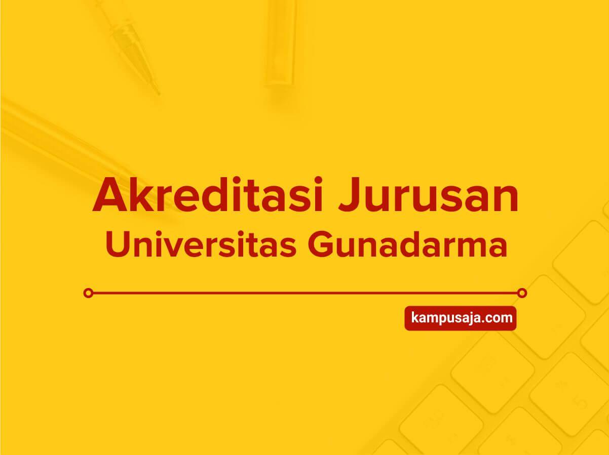 Akreditasi Jurusan Universitas Gunadarma