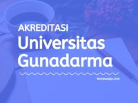 Akreditasi Program Studi Universitas Gunadarma Depok
