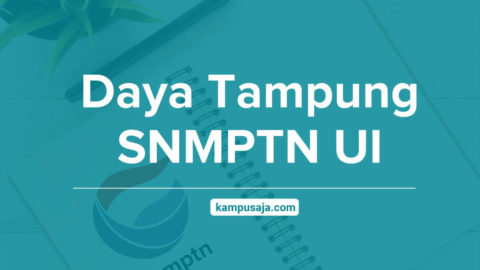 Daya Tampung SNMPTN UI Depok - Universitas Indonesia
