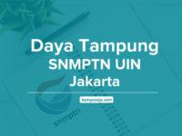 Daya Tampung SNMPTN UIN Jakarta - Universitas Islam Negeri Syarif Hidayatullah