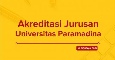 Akreditasi Jurusan Universitas Paramadina Jakarta