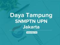Daya Tampung SNMPTN UPN Jakarta