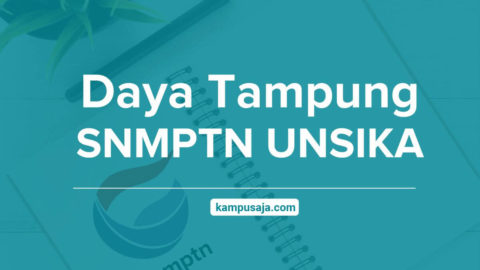 Daya Tampung SNMPTN UNSIKA Universitas Singaperbangsa Karawang