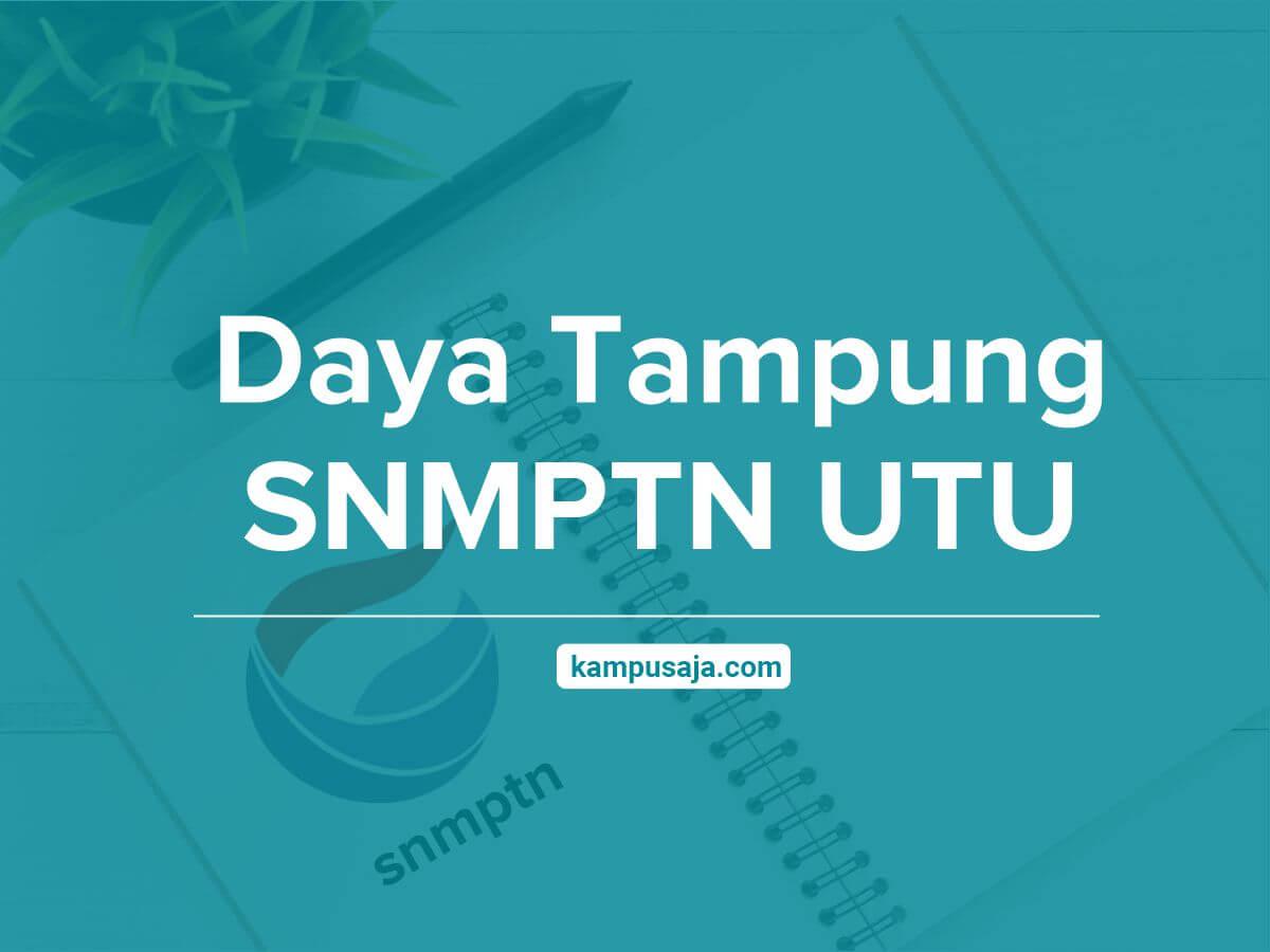 Daya Tampung SNMPTN UTU - Jalur Undangan Universitas Teuku Umar