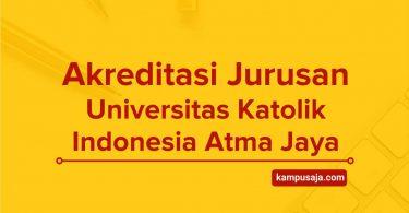 Akreditasi Universitas Katolik Indonesia Atma Jaya - UNIKA Jakarta