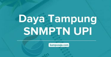 Daya Tampung SNMPTN UPI Universitas Pendidikan Indonesia Bandung