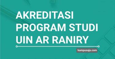 Akreditasi Program Studi UIN Ar-Raniry Banda Aceh