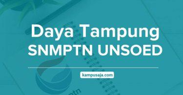 Daya Tampung SNMPTN UNSOED Universitas Jenderal Soedirman Purwokerto