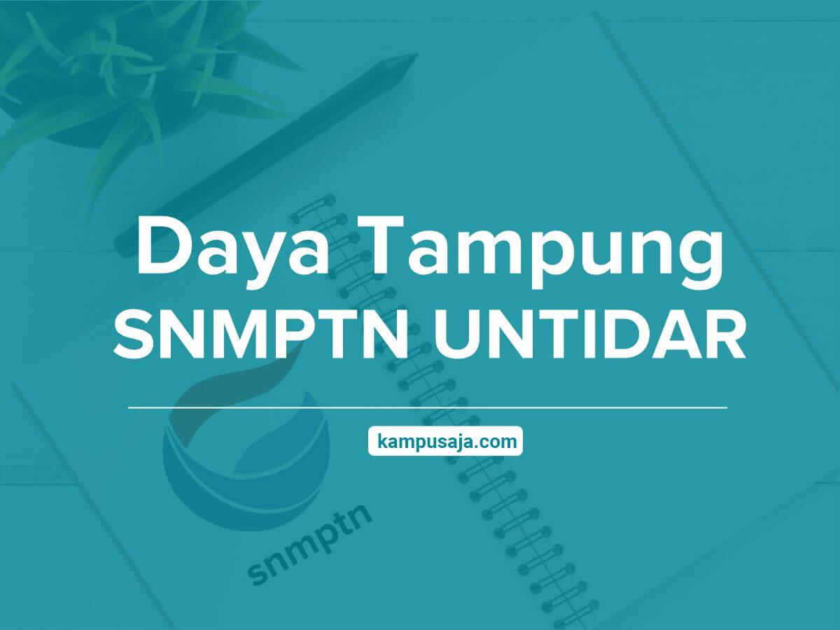 Daya Tampung SNMPTN UNTIDAR Universitas Tidar Magelang