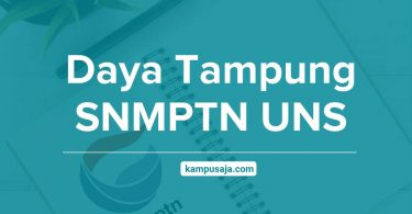 Daya Tampung SNMPTN UNS Universitas Sebelas Maret Surakarta