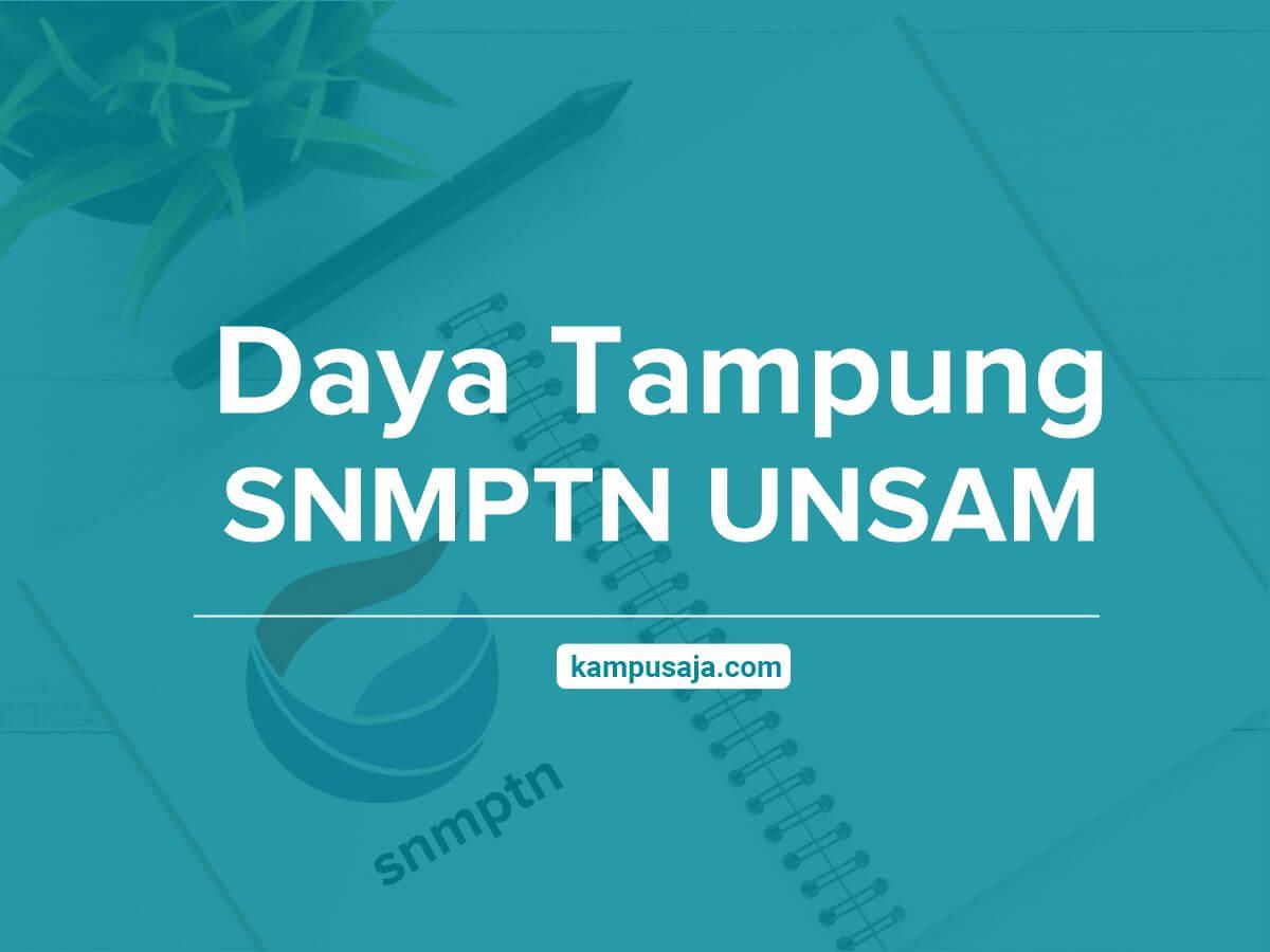 Daya Tampung SNMPTN UNSAM - Jalur Undangan Universitas Samudera