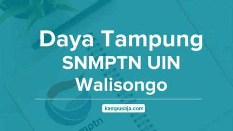 Daya Tampung SNMPTN UIN Walisongo Semarang