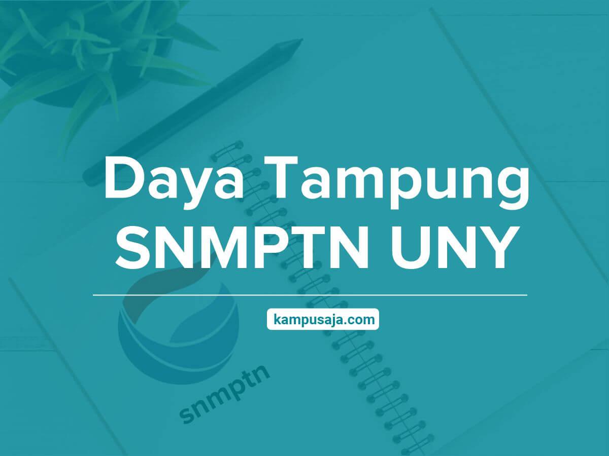 Daya Tampung SNMPTN UNY - Jalur Undangan Universitas Negeri Yogyakarta