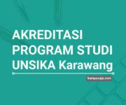 Akreditasi Program Studi UNSIKA Universitas Singaperbangsa Karawang - Jurusan di UNSIKA