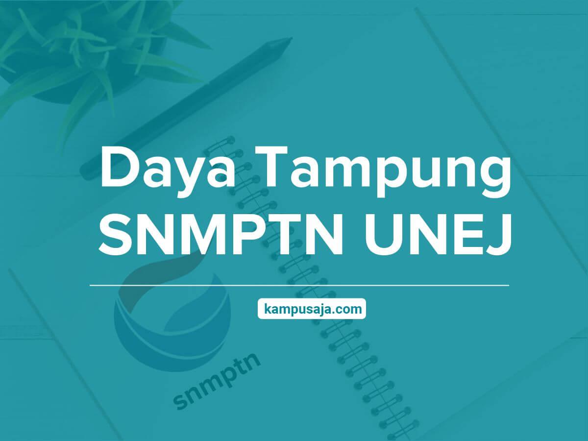 Daya Tampung SNMPTN UNEJ Universitas Jember