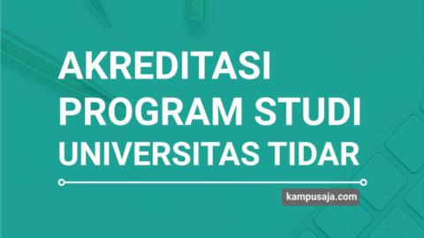 Akreditasi Program Studi UNTIDAR Universitas Tidar Magelang - Jurusan di UNTIDAR