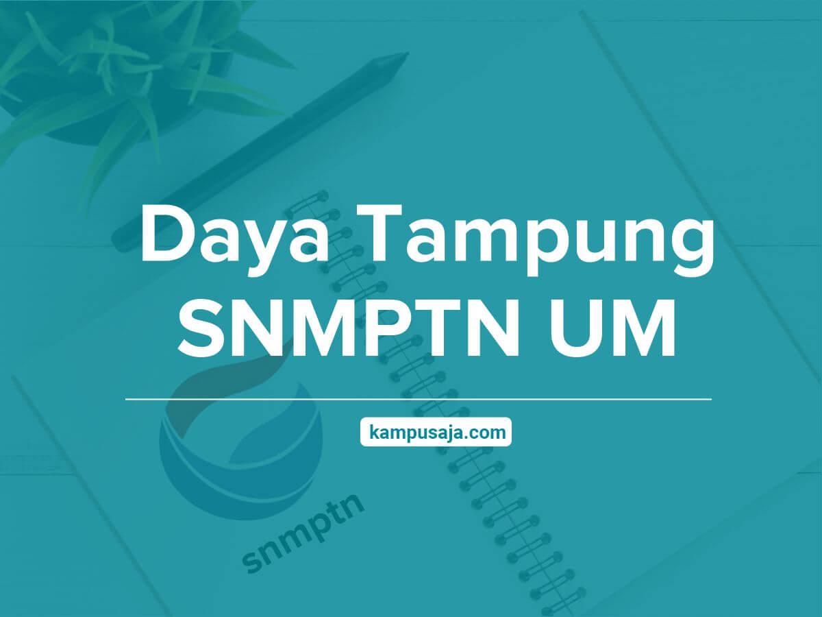 Daya Tampung SNMPTN UM Universitas Negeri Malang