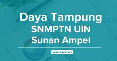 Daya Tampung SNMPTN UIN Sunan Ampel Surabaya