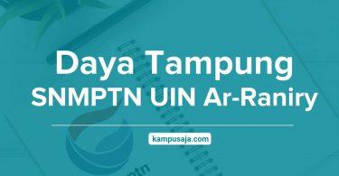 Daya Tampung SNMPTN UIN Ar-Raniry