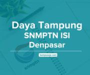 Daya Tampung SNMPTN ISI Denpasar