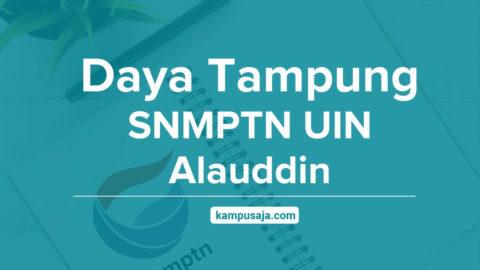 Daya Tampung SNMPTN UIN Alauddin Makassar