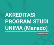 Akreditasi Program Studi UNIMA Universitas Negeri Manado - Jurusan di UNIMA