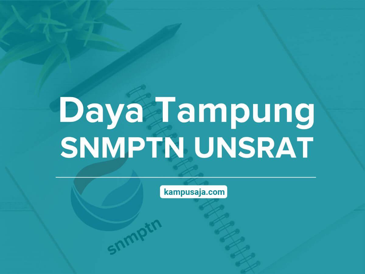 Daya Tampung SNMPTN UNSRAT Universitas Sam Ratulangi Manado