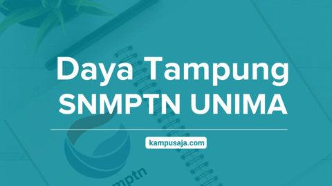 Daya Tampung SNMPTN UNIMA Universitas Negeri Manado