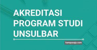 Akreditasi Program Studi UNSULBAR Universitas Sulawesi Barat - Jurusan di UNSULBAR