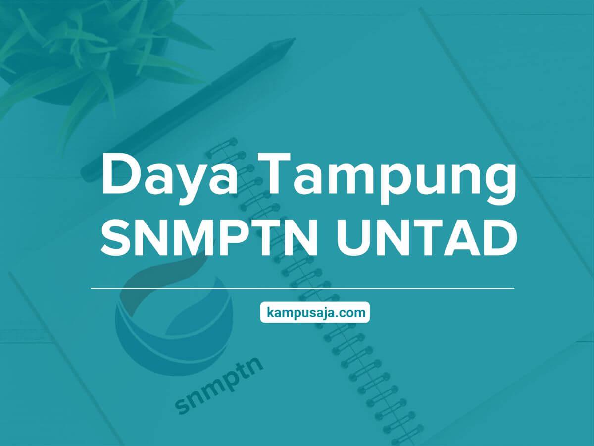 Daya Tampung SNMPTN UNTAD Universitas Tadulako Palu