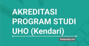 Akreditasi Program Studi UHO Universitas Halu Oleo Kendari - Jurusan di UHO