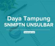 Daya Tampung SNMPTN UNSULBAR Universitas Sulawesi Barat