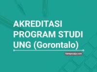 Akreditasi Program Studi UNG Universitas Negeri Gorontalo - Jurusan di UNG