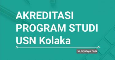 Akreditasi Program Studi USN Kolaka Universitas Sembilasbelas November Kolaka