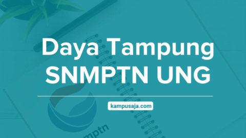 Daya Tampung SNMPTN UNG Universitas Negeri Gorontalo