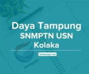 Daya Tampung SNMPTN USN Kolaka - Universitas Sembilanbelas November Kolaka