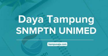 Daya Tampung SNMPTN UNIMED - Jalur Undangan Universitas Negeri Medan