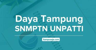 Daya Tampung SNMPTN UNPATTI Universitas Pattimura Ambon