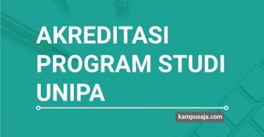 Akreditasi Program Studi UNIPA Universitas Papua