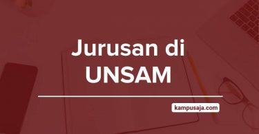 Jurusan di UNSAM - Akreditasi Biaya Kuliah Daya Tampung Universitas Samudra