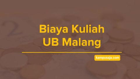 Biaya Kuliah UB Universitas Brawijaya Malang