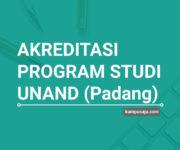 Akreditasi Program Studi UNAND Universitas Andalas Padang - Jurusan di UNAND