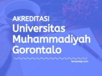 Akreditasi Program Studi UMGO - Universitas Muhammadiyah Gorontalo