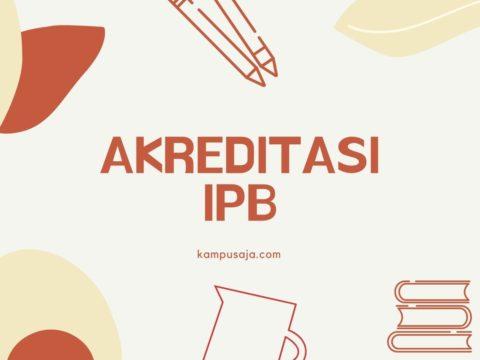 Akreditasi Program Studi IPB