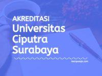 Akreditasi Program Studi Universitas Ciputra Surabaya