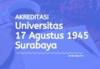 Akreditasi Program Studi UNTAG Surabaya - Universitas 17 Agustus 1945 Surabaya