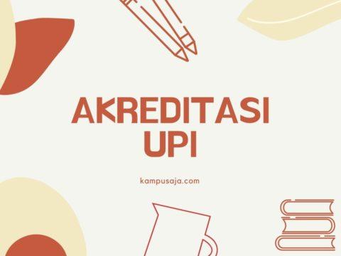Akreditasi Program Studi UPI