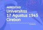 Akreditasi Program Studi UNTAG Cirebon - Universitas 17 Agustus 1945 Cirebon